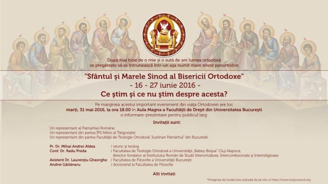 afis conferinta 2 iunie